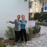 The wonderful Ornela and Antonia who keep the place spotless!