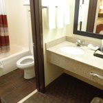 Bathroom with granite counter