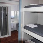 bunks/ Bathroom