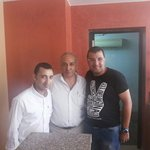 With Mr Joseph and Abdel Messeh