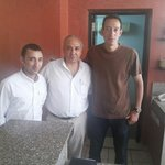My friend Hany with Mr Joseph and Mr Abdel Messeh