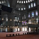 Blue Mosque...5 mins walk from Hotel