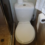 Toilet - a tight squeeze