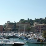 The bay at Santa Margherita Ligure, Italy