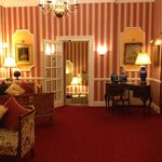 Park Hotel, Tenby. Reception area.