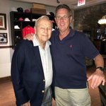 Lucky me meeting Arnold Palmer in his restaurant