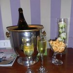 Champagne for our 25th!!
