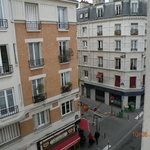 View of Rue Daguerre from window
