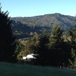 A beautiful view of the Chetco River Valley to wake up to
