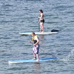 Paddle boarding, photo by Mike Keenan