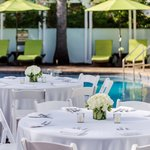 Poolside Wedding at Southernmost Hotel