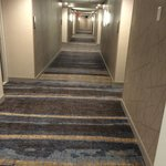 Ugly carpet on the hallway