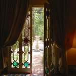 View through the patio doors in Tiwaline 1