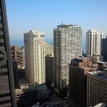 View from our Suite towards Lake Michigan