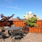Rooftop Patio at Wales Hotel