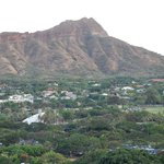 View of Diamond Head from hallway of 2504