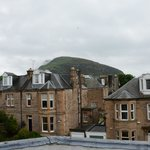 View of Arthur's seat from the top floor bedroom