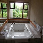 Our casitas bathroom had a jacazzi tub.