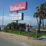 Foto de Red Roof Inn Galveston - Beachfront/Convention Center