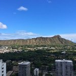 diamond head from the 30th floor
