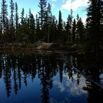 Mirror Like Reflections on Grassi Lakes