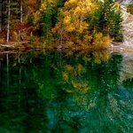 Autumn colours at Grassi Lakes