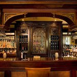 The Veranda's Antique Mahogany Bar