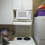 Microwave on unlevel surface