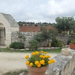 Masseria Aprile walls and fields