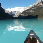 if you are a hotel guest, you don't have to wait in the tourist line to get a canoe.