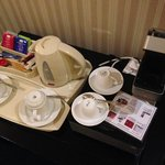 Plastic trays and the worlds most complicated coffee maker