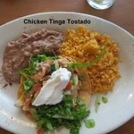 Chicken Tinga Tostado