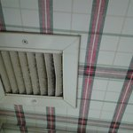 Dusty exhaust fan vent