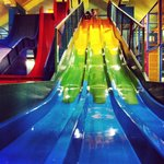 The slides at Adventure Zone.