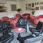 Lounge area near reception !(free wi fi available here)