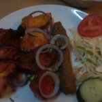 Mixed grill starter