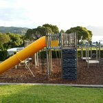 well-maintained playground - kids love it!!!