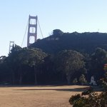 A view of the Golden Gate Bridge from Cavallo Point