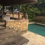 our pool and veranda
