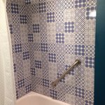 Nice tile in shower