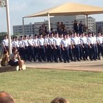 Great for Lackland graduation.