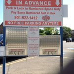 Unorthodox but useful parking options in Memphis