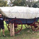 Me and Covered Wagon