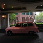 Pink London Taxi