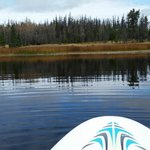 Siwash Lake from a paddleboard - a must!