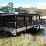 Fabulous onsite Pipeclay Pumphouse restaurant.