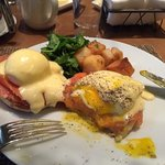 Best egg Benedict with Salmon I ever had.