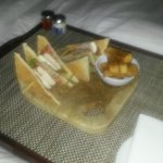 Not the most exciting photo, but the club sandwich was too good not to share!!
