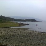 View from the footpath leading to The Isle of Mull Hotel from Craignure