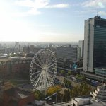 View over Piccadilly Gardens